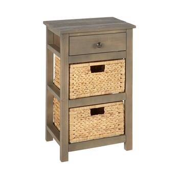 Summit 1-Drawer/2-Basket Cabinet