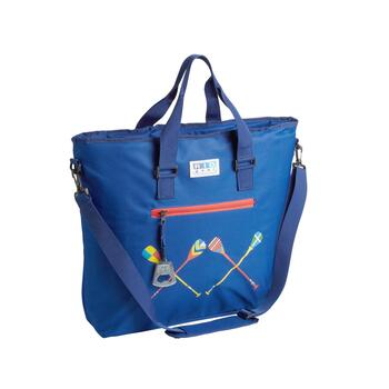 "20.5"" Oars Blue Deluxe Insulated Cooler Tote"