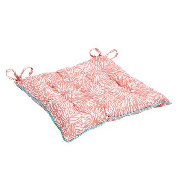Vera® Dahlia Indoor/Outdoor Tufted Square Seat Pad