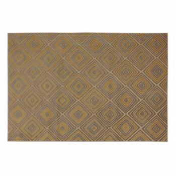 5'x7' Mohawk Home Beige Diamond Woven Area Rug
