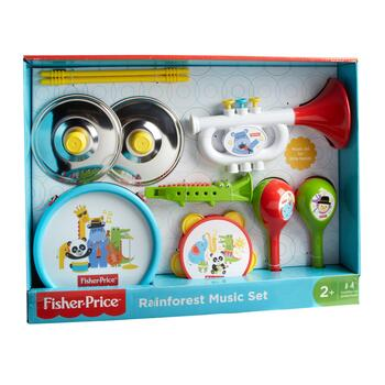 Fisher-Price® Rainforest Music Set, 10-Piece