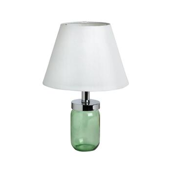 "15.5"" Hobby Glass Fillable Jar Table Lamp"