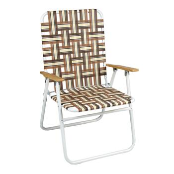 7-Position Folding Web Chair