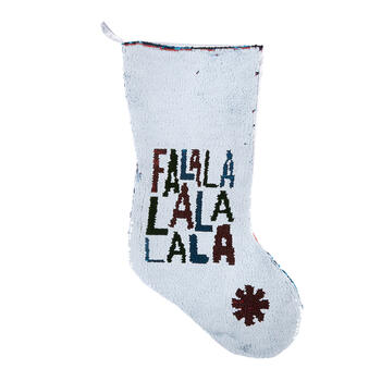 """Fa La La"" Color-Changing Sequined Stocking view 1"