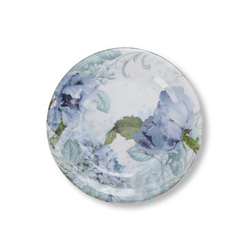 Petal and Stone™ Floral Salad Plate view 1