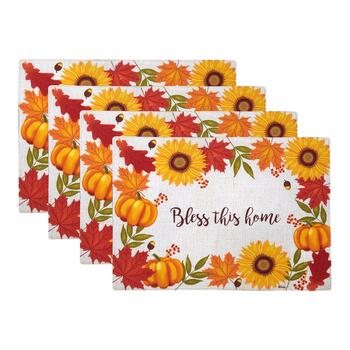 """Bless This Home"" Placemats, Set of 4"