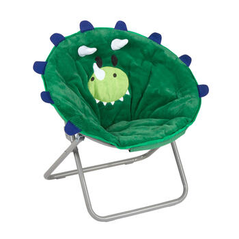 Dinosaur Children's Saucer Chair view 1