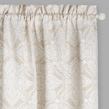 "84"" Legend Medallion Rod Pocket Window Curtains, Set of 2 view 1"