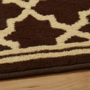 "59""x79"" Brown Gate Area Rug view 2"