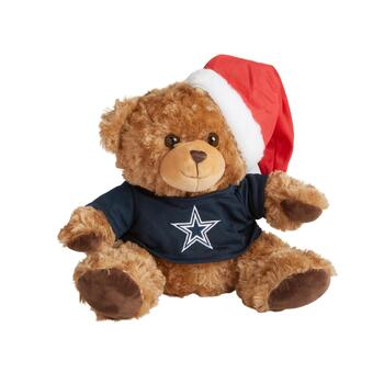 "10.5"" Dallas Cowboys Santa Bear"