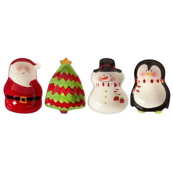 Holiday Friends Tidbit Bowls, Set of 4