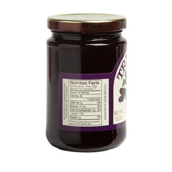 Trappist® 12-oz. Blackberry Seedless Jam Jars, Set of 4 view 2