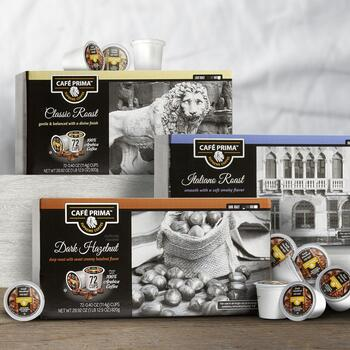 Cafe Prima Coffee Pods