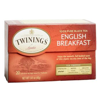 Twinings® English Breakfast Black Tea, 6 Boxes