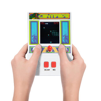 Centipede Handheld Arcade Game view 3