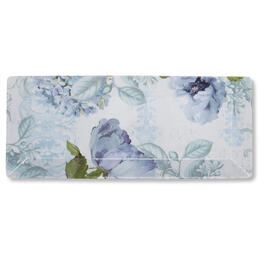 Petal and Stone™ Floral Rectangular Tray view 1