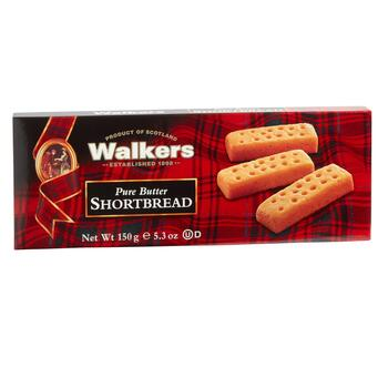 Walkers Pure Butter Shortbread Finger Cookies, 12 Boxes