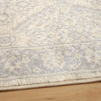 The Grainhouse™ Beige/Gray Floral Diamond Area Rug view 2