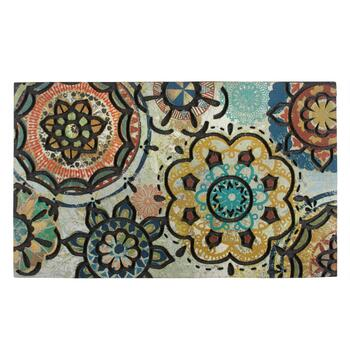 Painter Medallion Door Mat