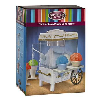 Nostalgia® Tabletop Carnival Snow Cone Maker view 2 view 3