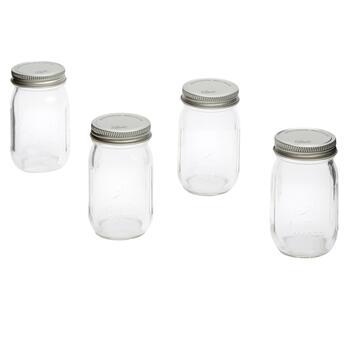 Ball® 4-oz  Mini Mason Jars, 4-Pack