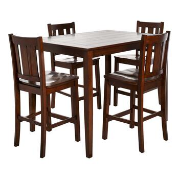 5 Piece Gathering Plank Top Dining Table Set Christmas Tree Shops And That Home Decor Furniture Gifts Store