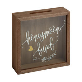 "11"" ""Honeymoon Fund"" Heart Box Decor view 1"
