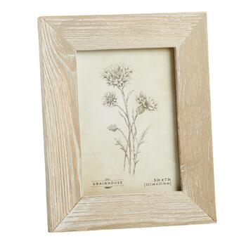The Grainhouse™ Flowers Barnwood Framed Wall Art view 2 view 3