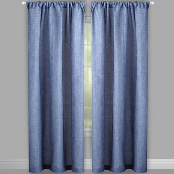 Alexander Solid Rod Pocket Window Curtains, Set of 2 view 2