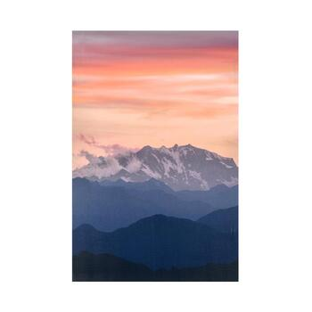 "24""x36"" Blush Mountain Canvas Wall Art"