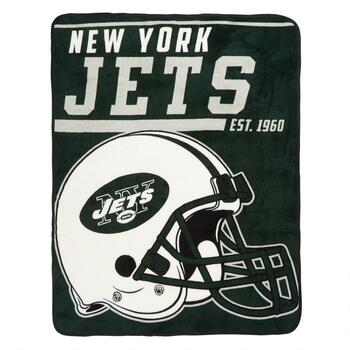 NFL New York Jets Plush Throw Blanket