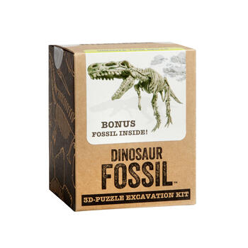 Dinosaur Fossil™ 3D Puzzle Excavation Kit view 1