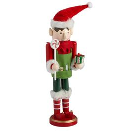 15 boy elf nutcracker with treats