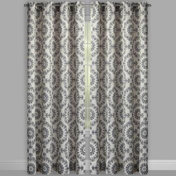 Eclipse by Sundown® Kin Medallion Window Curtains, Set of 2 view 2