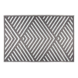 Patio Mat Grey 4x6 B view 1
