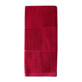 Red Squares Kitchen Towel view 1