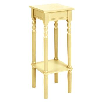 Colored Square Accent Table