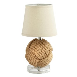 "14"" Nautical Knot Table Lamp"