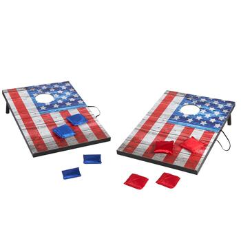 American Flag Bean Bag Toss Lawn Game