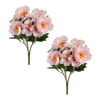 "21"" Peony Flower Bouquets, Set of 2 view 1"