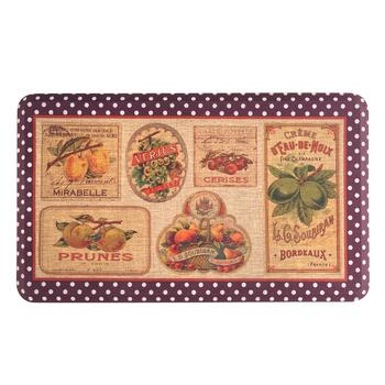 Mohawk Home Vintage Fruits Cushioned Floor Mat