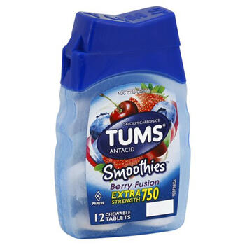 TUMS SMOOTHIES ASST BERRY 12ct view 1