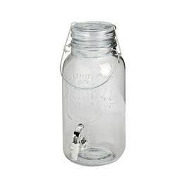 1-Gallon Mason Jar Glass Beverage Dispenser