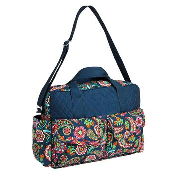Paisley Quilted Laptop Bag