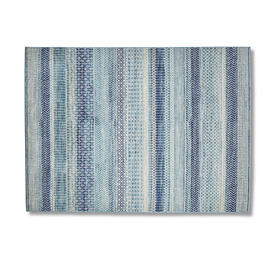 Navy/Blue Stripes 5' x 7' Area Rug view 1