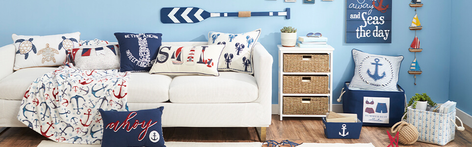 Nautical Indoor Summer Decor
