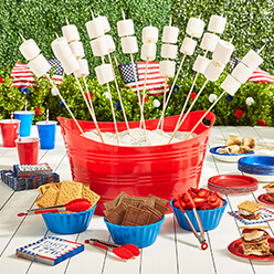 4th of July S'mores Station