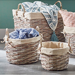 Create Blanket Baskets