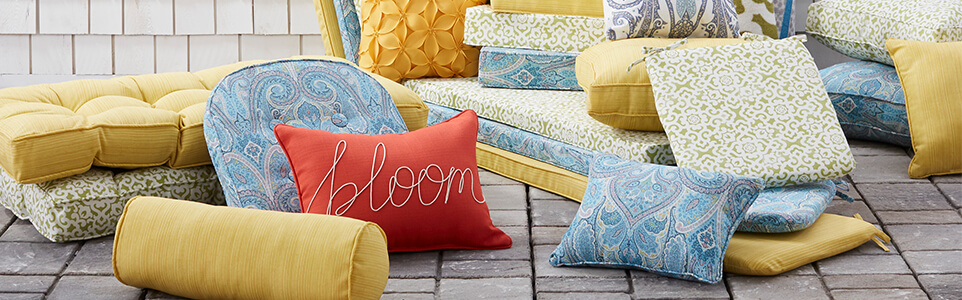 Patio Chic Cushions