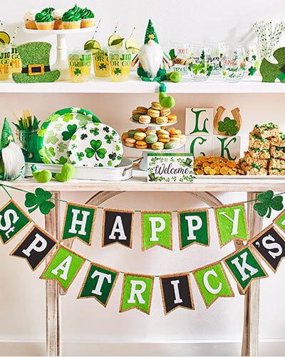 St. Patricks Day Decor